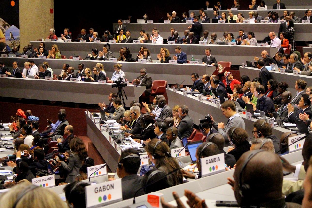 Конференция участников трёх конвенций в Женеве