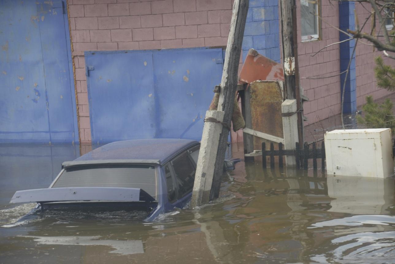 Вода затопила 171 дом