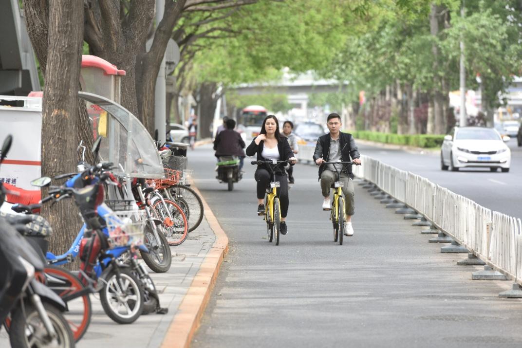 В Китае бум общественных велосипедов