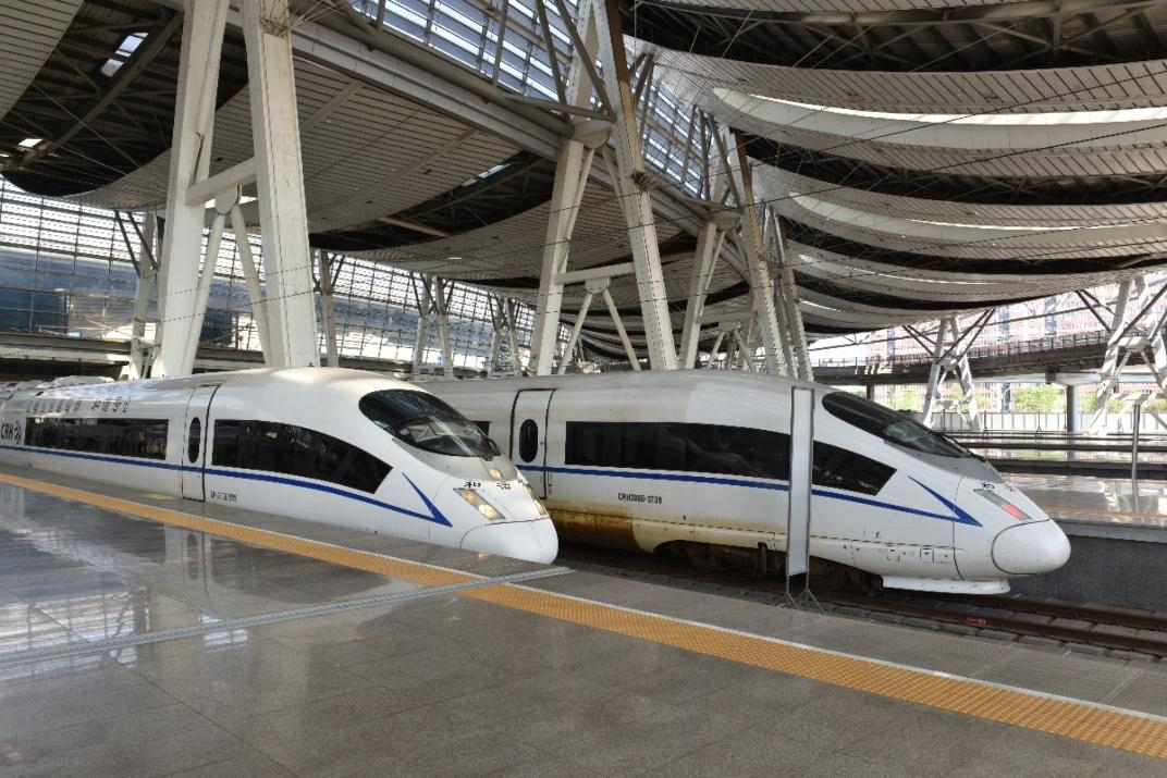 Высокоскоростные поезда в Китае
