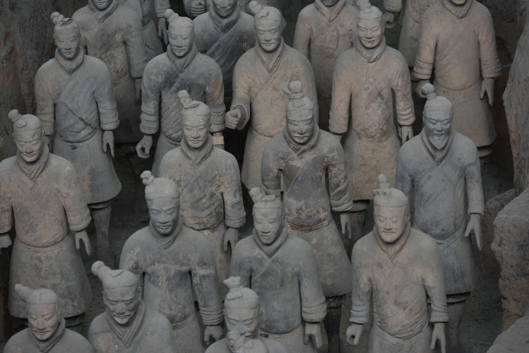 Уникальное для истории человечества терракотовое войско в Китае