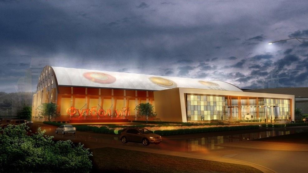 Строительство футбольного комплекса завершится в 2018 году