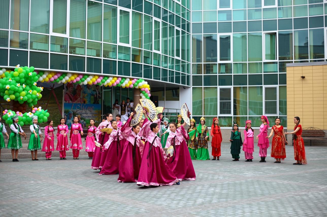 В НИШ Семея прошло празднование Наурыза