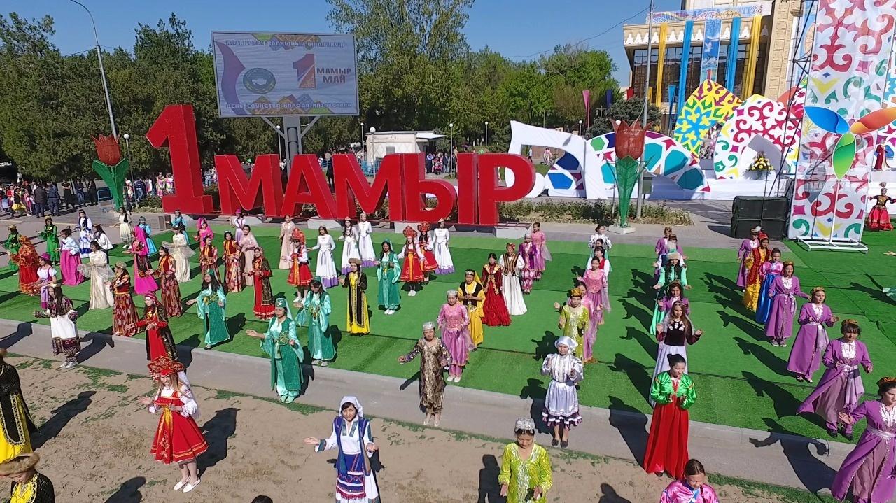 В ЮКО отметили День единства народа Казахстана
