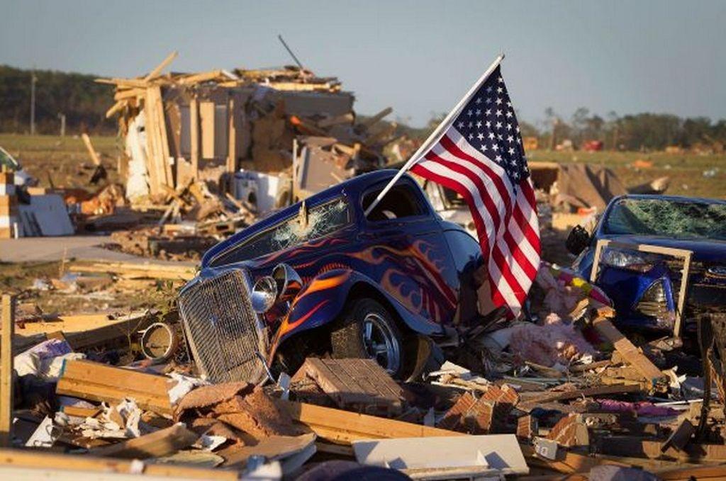 В США пришли штормовые ветра