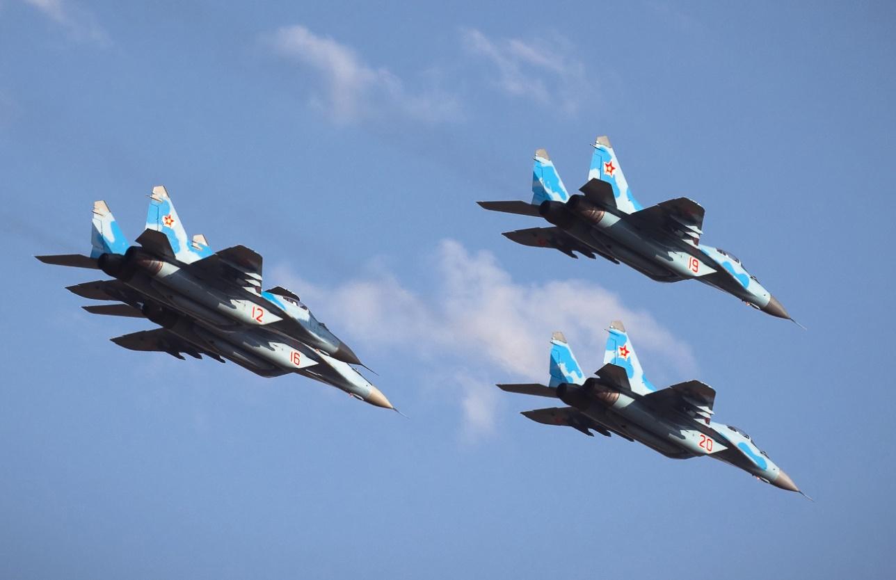 Миг-29 военно-воздушных сил Казахстана
