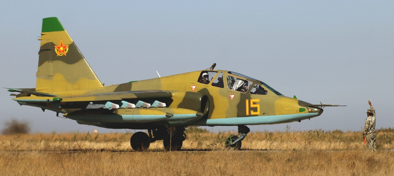Су-25 военно-воздушных сил Казахстана