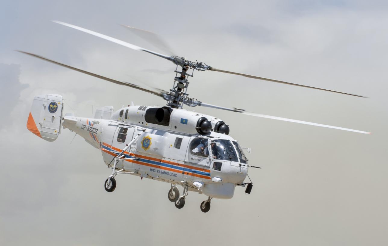 "Многоцелевой вертолёт Ка-32 A 11 BC ""КазАвиаСпаса"""