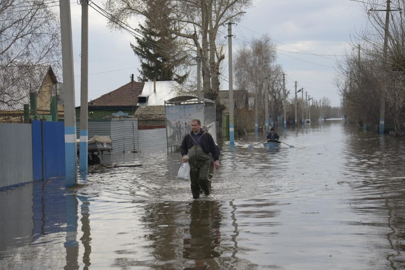 Паводок в Рузаевке