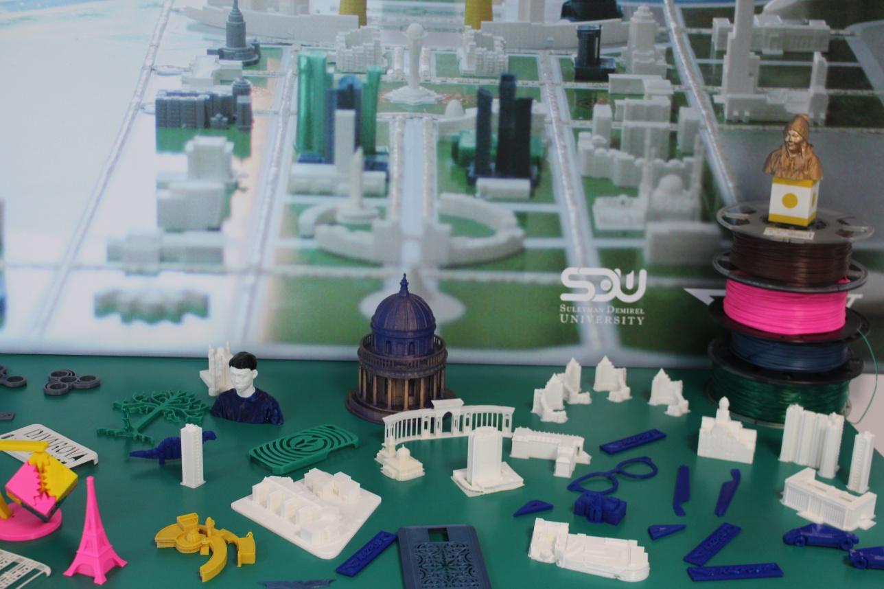 Предметы, созданные на 3D- принтере