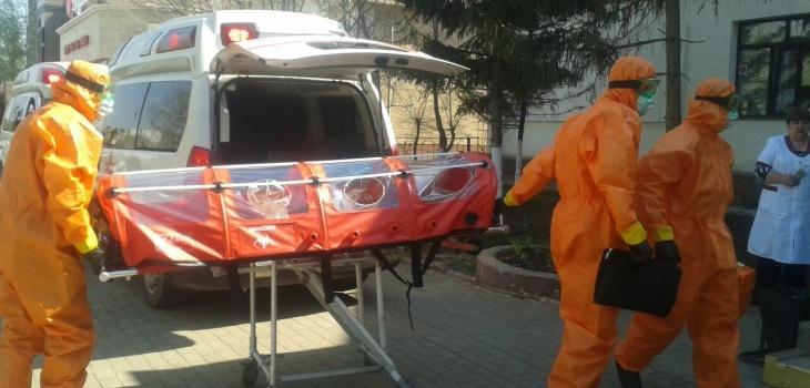 Учения прошли в городской инфекционной больнице Астаны
