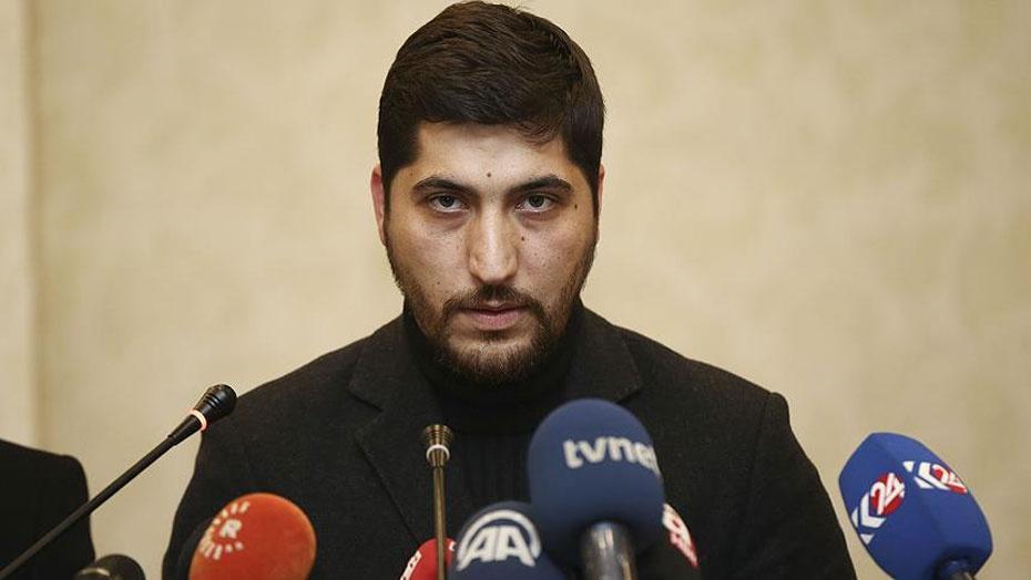 Представитель вооружённой сирийской оппозиции Усама Абу Зейд