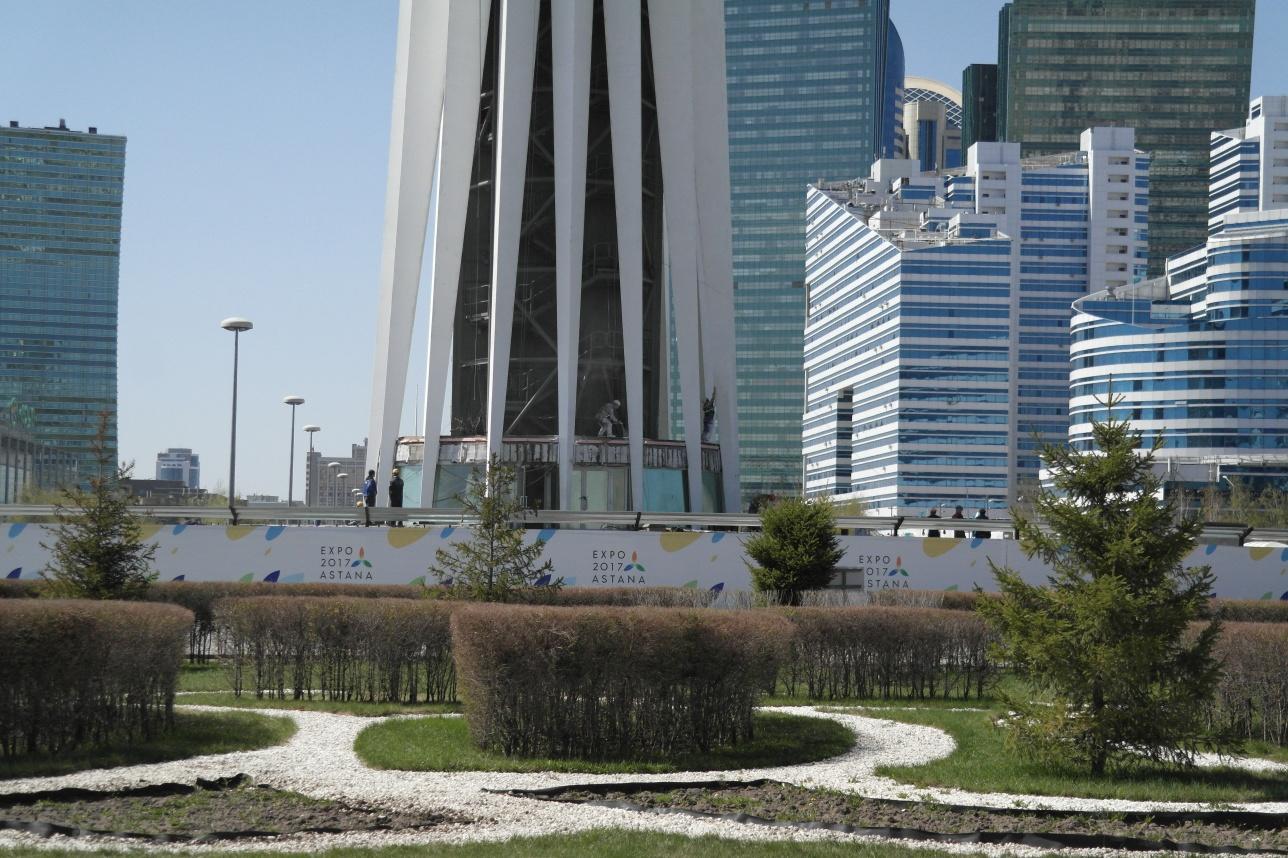 Капитальный ремонт монумента Байтерек завершится в мае