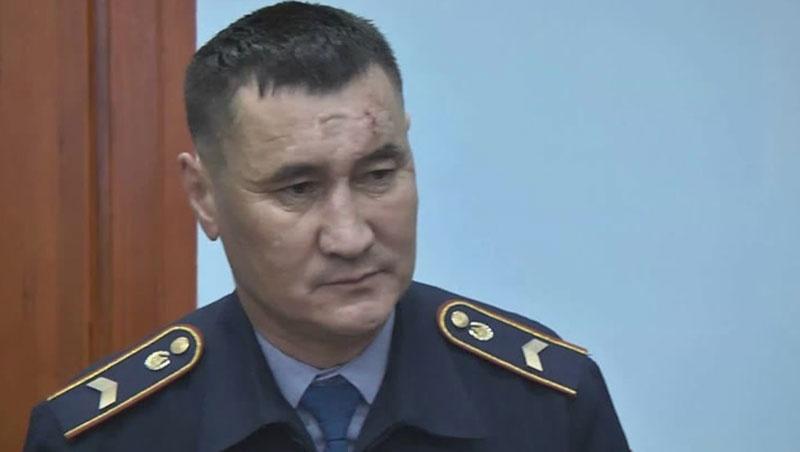 Баянбек Жунусов после аварии