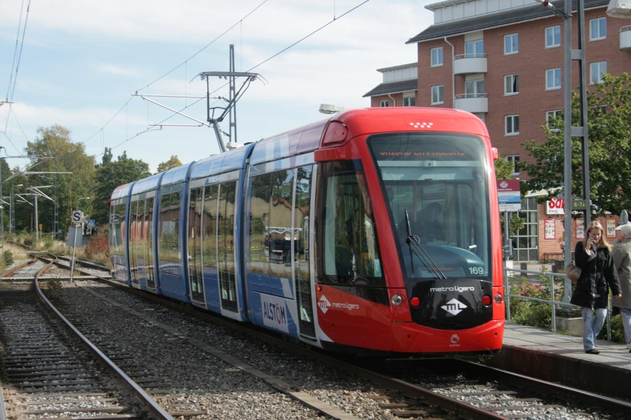 Трамваи ALstom-Citadis в Мадриде