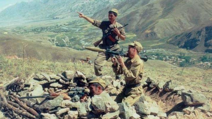 Бойцы 7-й роты Казбата
