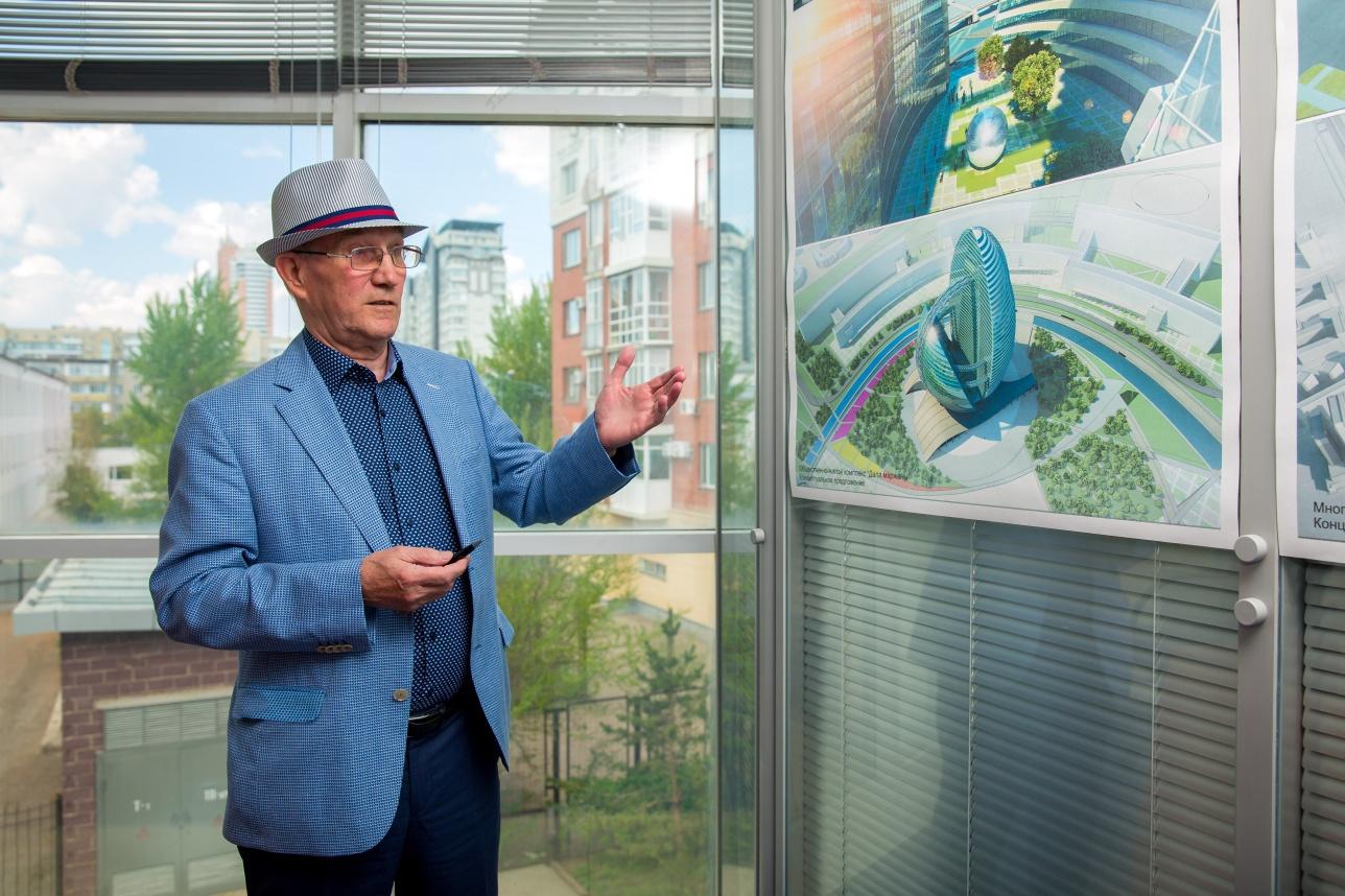 Василий Тоскин показывает свои проекты