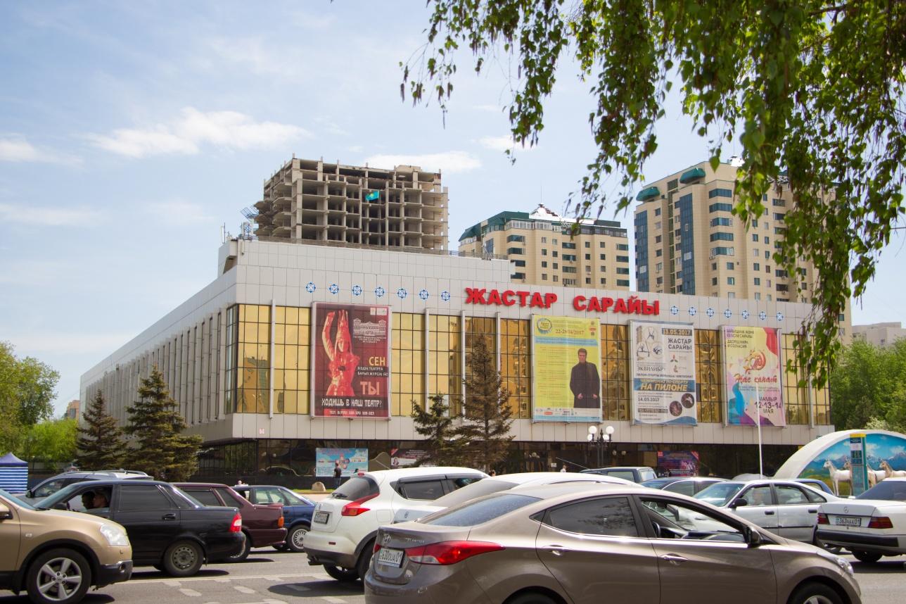 "Здание ""Дворца Жастар"" (2017 г.)"
