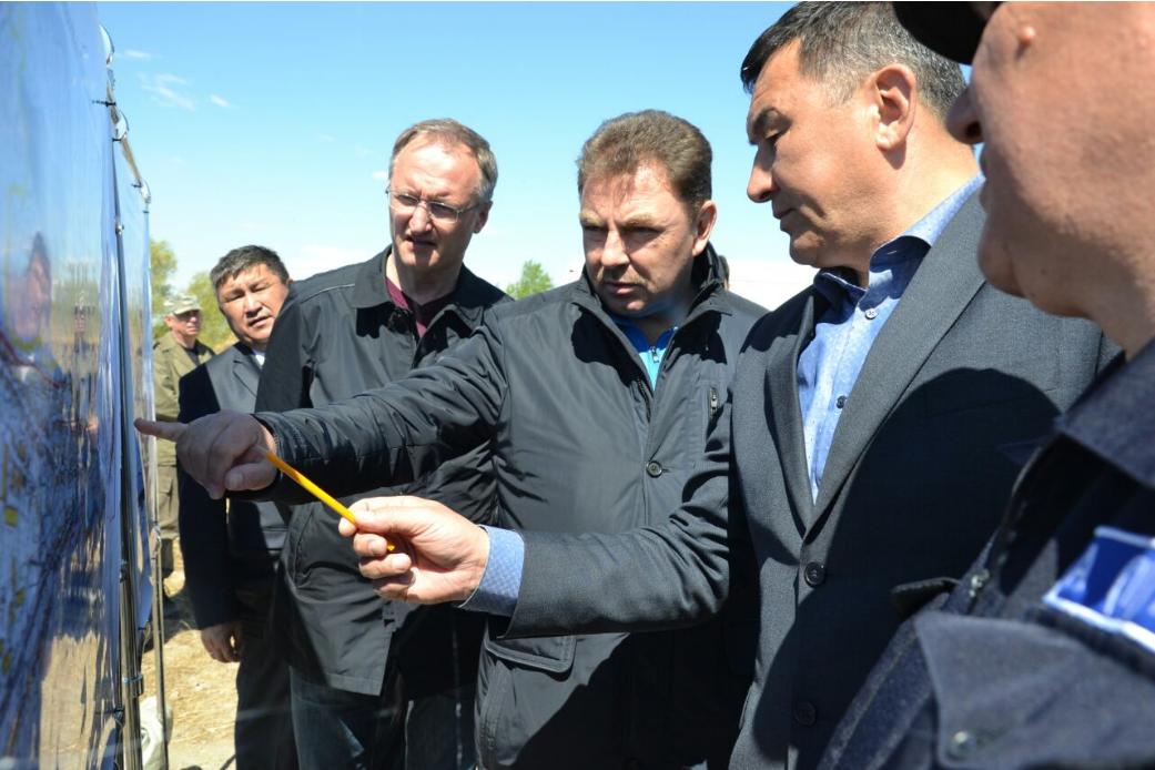 Юрий Ильин посетил СКО