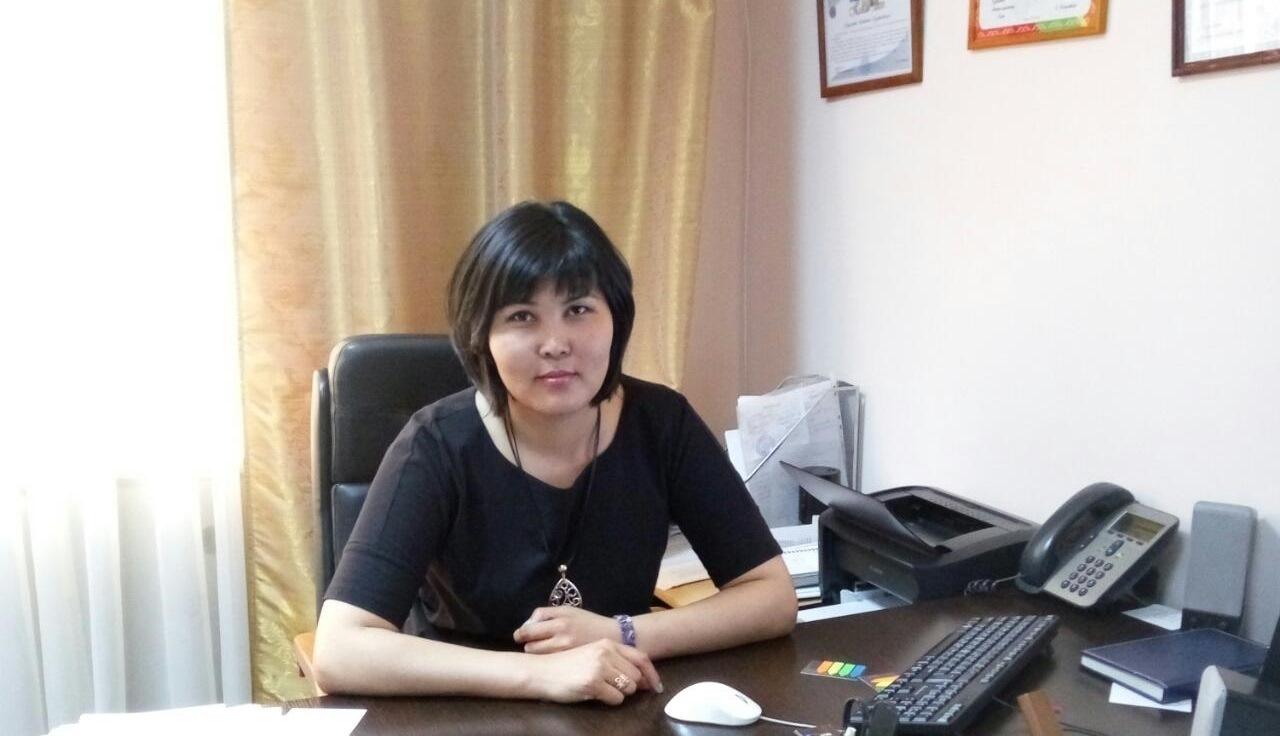 Назира Жумадильдаева Астана қаласы ауыл шаруашылығы басқармасының бас маманы