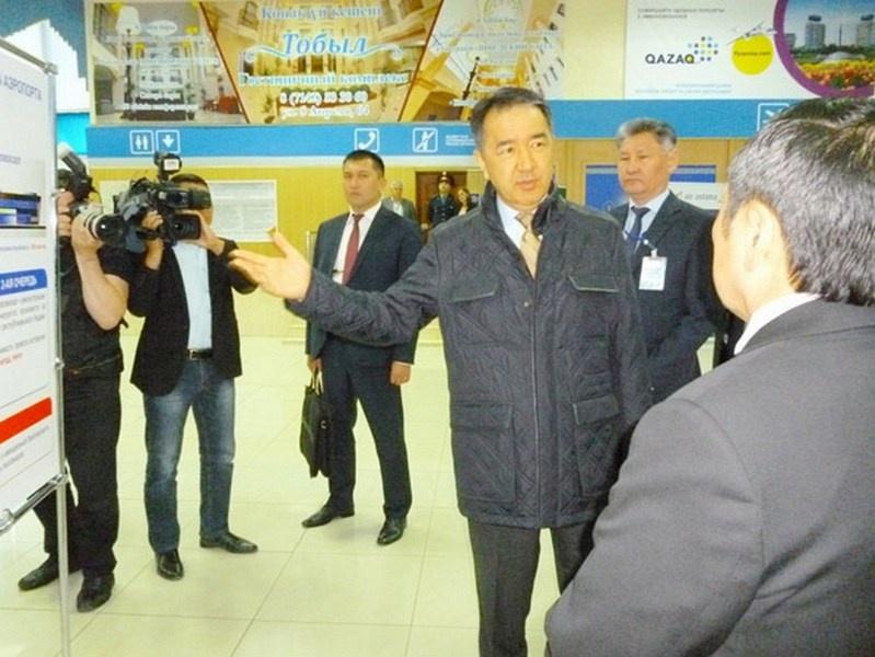 Сагинтаеву показали аэропорт Костаная