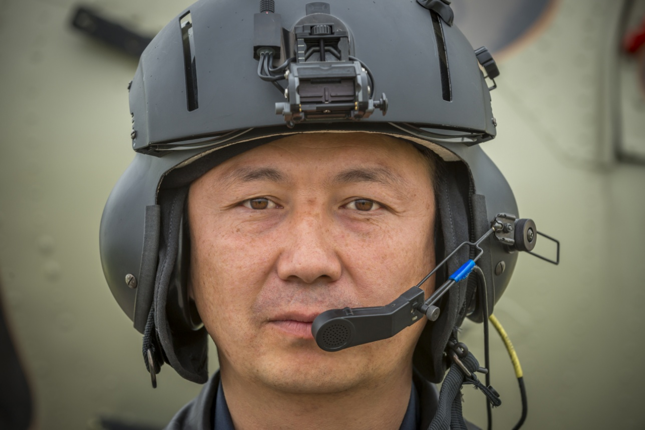Мухамед Унбаев, заместитель командира эскадрильи
