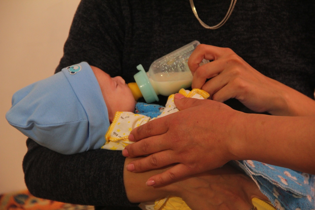 Сергей родился с кишечником наружу