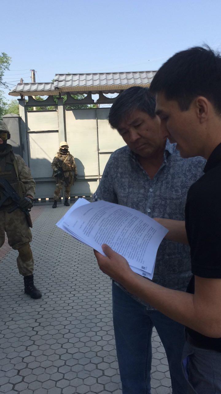 Задержание скупщика краденой нефти Куандыкова