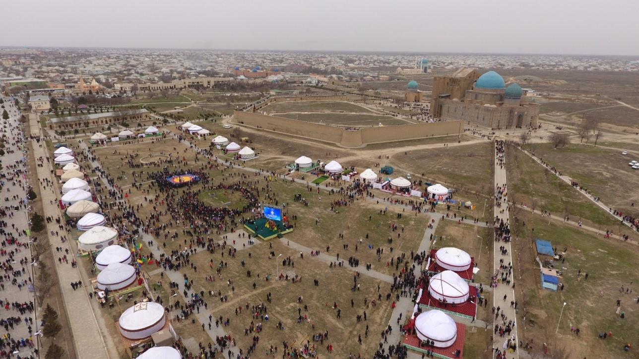 Туркестан в 2017 года официально стал столицей тюркского мира