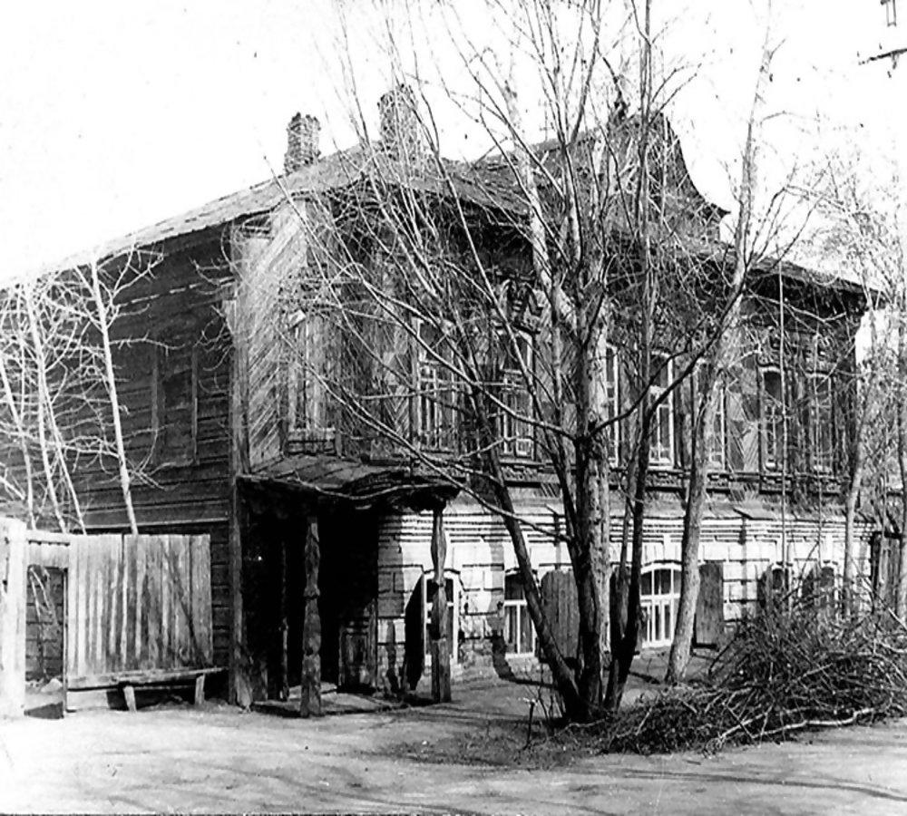 Дом купца Баженова в советское время