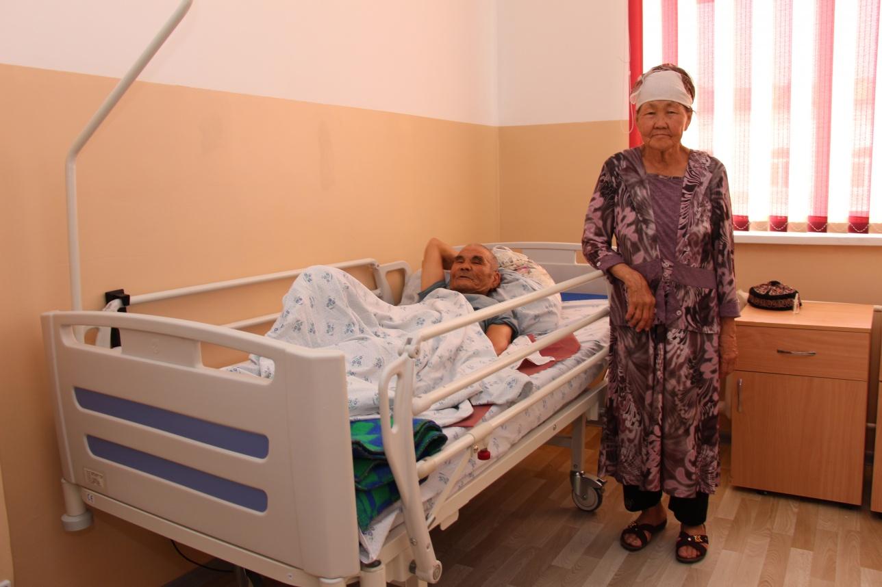 Пациенты филиала ОМЦ в Байконуре