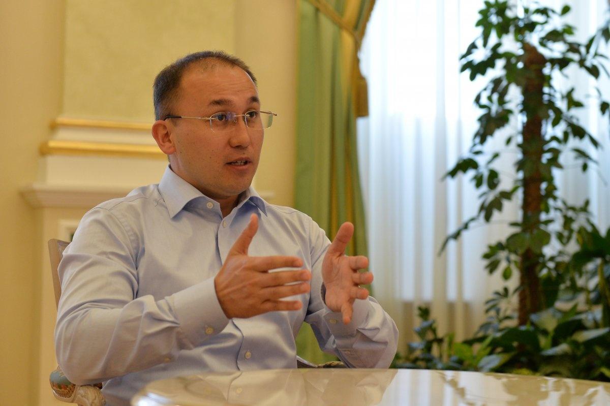 Министр МИК РК Даурен Абаев