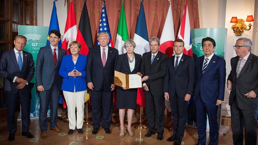 Лидеры G7 приняли совместное коммюнике