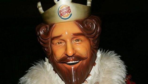 Burger King использует в своей рекламе мультипликационное изображение короля Бельгии