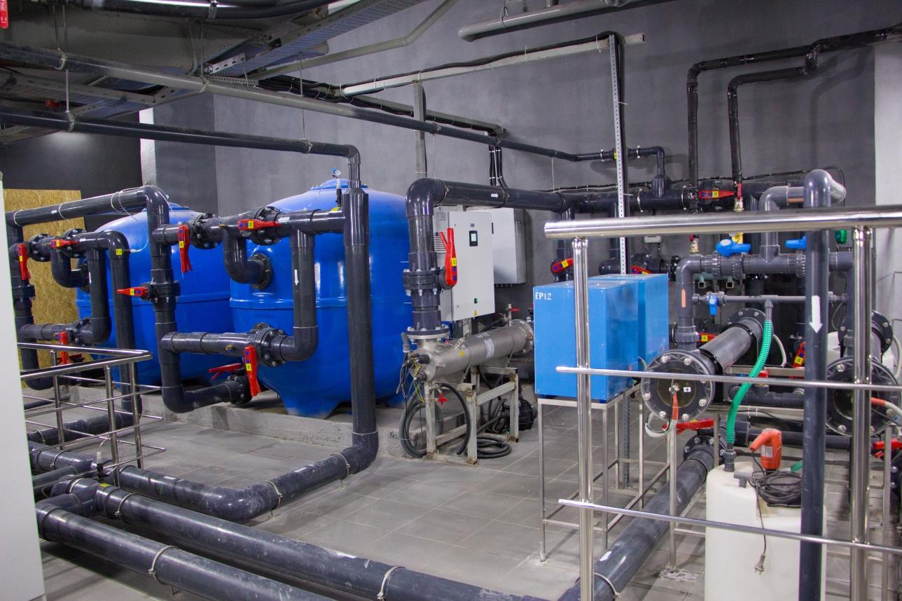 Пятиступенчатое водоочистное оборудование