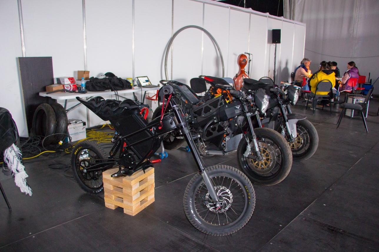Специальные мотоциклы для экстримального номера