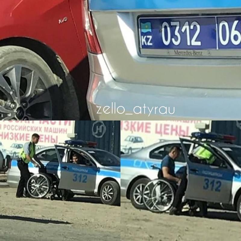 Благородный поступок полицейского