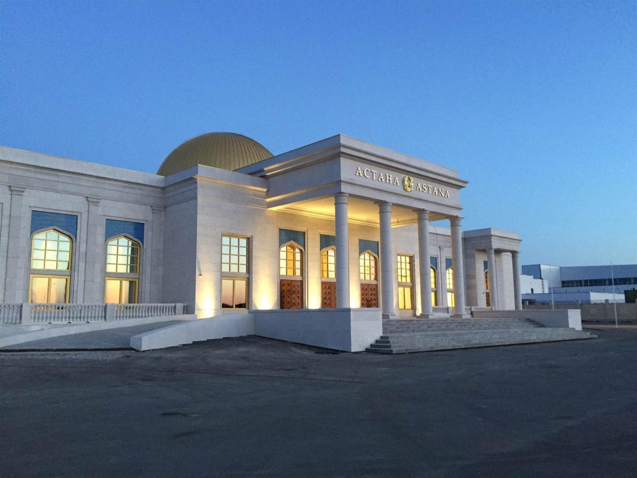 Здание нового VIP-терминала аэропорта Астаны