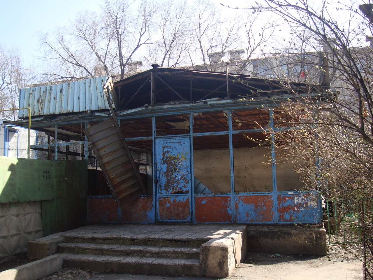 Здание до создания дворового клуба