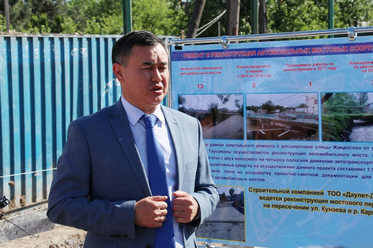 Аким Наурызбайского района Сайран Сайфеденов