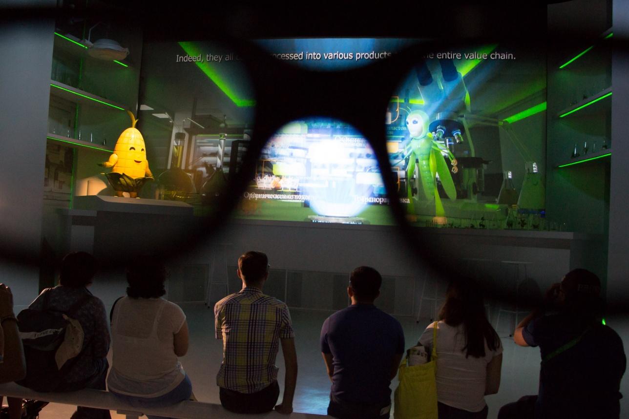 3D фильм в тайском павильоне