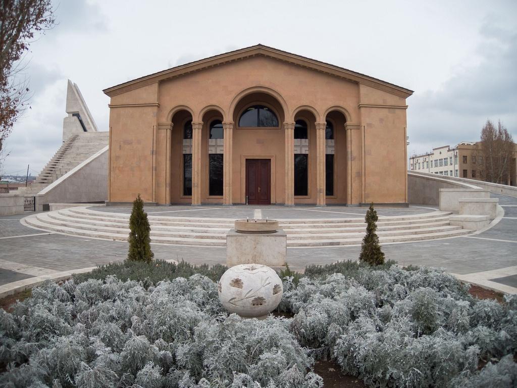 Пантеон 1930-шы жылдары орнады. 2005 жылы қайта жаңарту жұмыстары жүргізілген