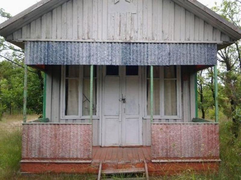 Дома в пансионате обветшали, посетителей нет