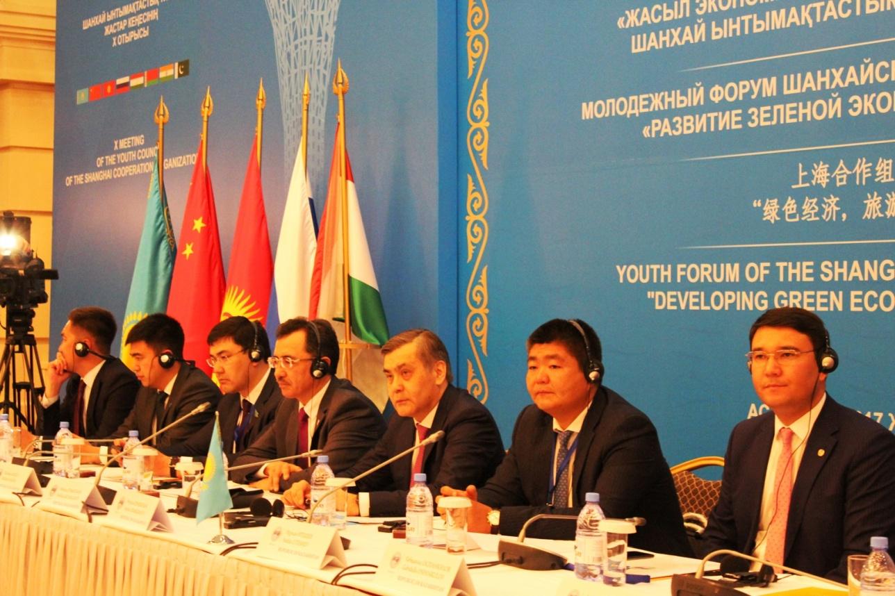 Заседание молодёжного совета ШОС