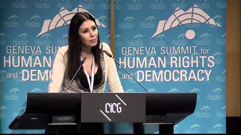 Ранда Кассис, лидер оппозиционного движения Сирии