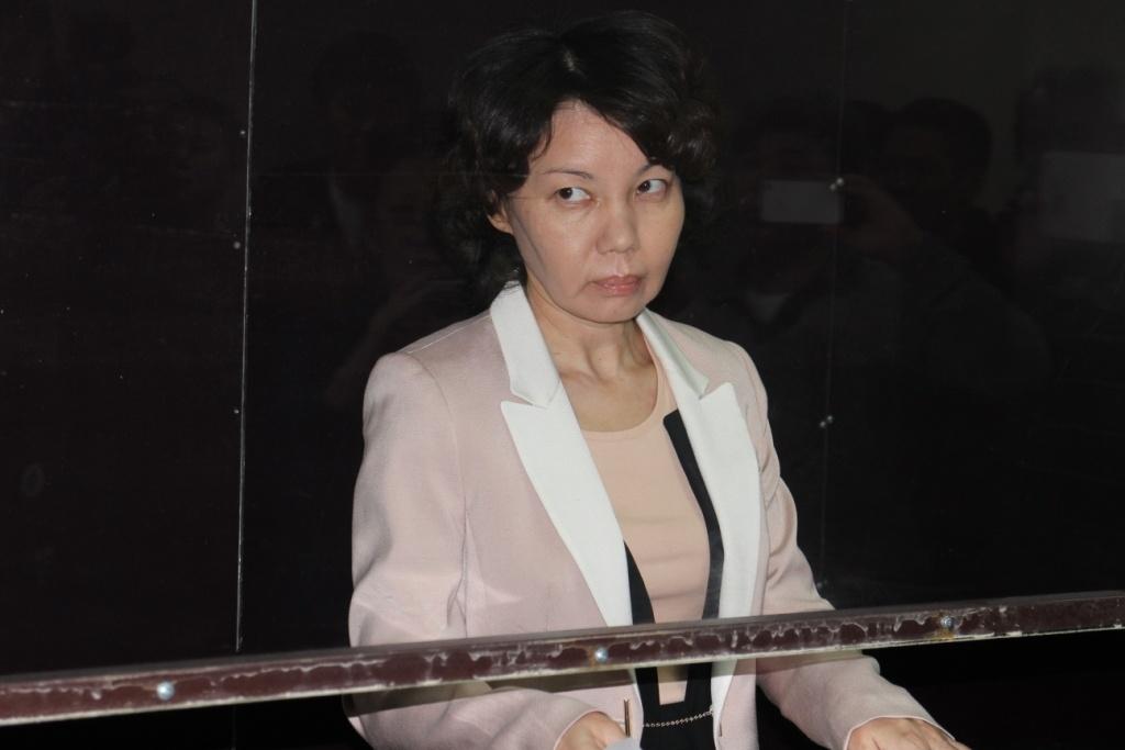 Осуждённая за хищения Анар Мешимбаева