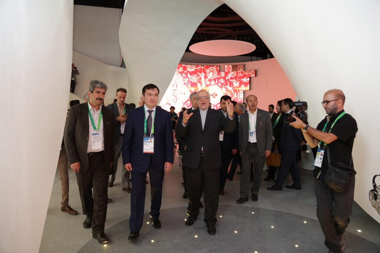 Иран представил свой павильон в Астане