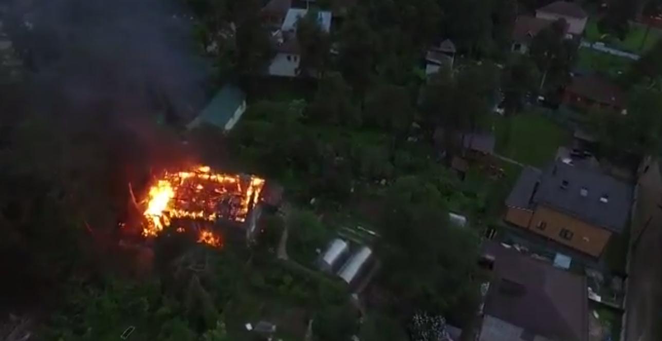 Перед побегом из окружения Кратовский стрелок поджёг свой дом