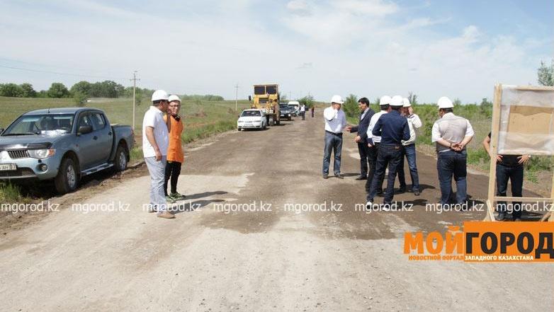 Ремонт дорог в Зелёновском района ЗКО