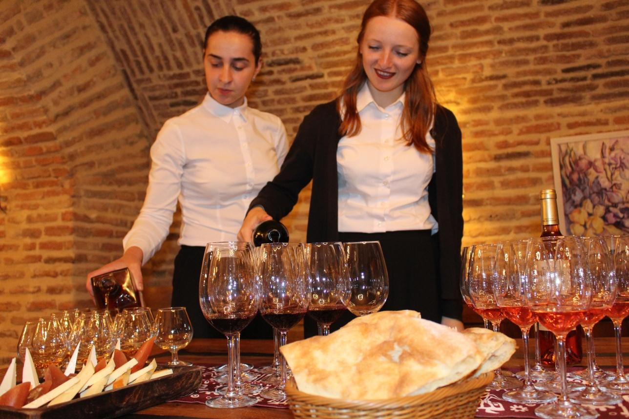 Дегустация грузинских вин